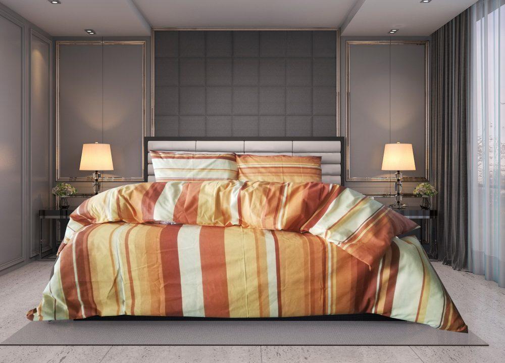 Lenjerie pat dublu-cearceaf pat elastic LP2-1030