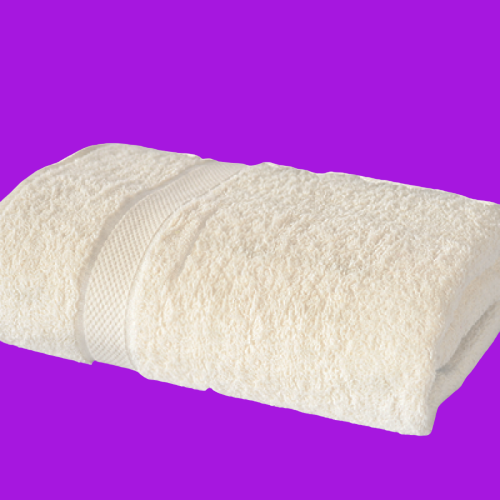 Prosop alb 1 bordura 70x140cm - 600gr/mp