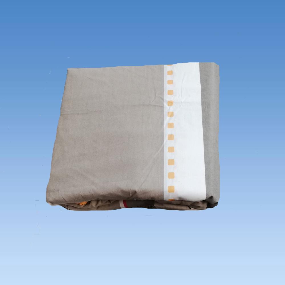 cearceaf pat cu elastic 160x200cm+fete perna cod437